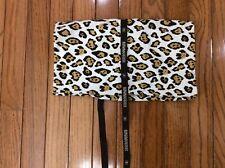 Ermanno Scervino Leopard  Dustbag Shoe Cover  Storage Bag 15x13 Fold Over . (p4)