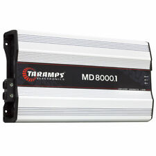 Taramps MD 8000 1 Channel 1 Ohm Car Amplifier