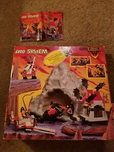 Lego 6099 Fright Knights Traitor Transport Base Plate Cave Box Instructions