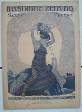 Illustrierte Zeitung Verlag J.J.Weber Leibzig 17.April 1919 Nr.3955