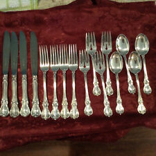 Old Master by Towle Sterling Silver Flatware Set For 4 Service 16 Pieces