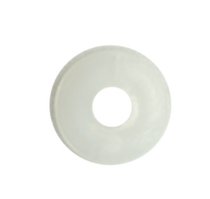 White Nylon Penny Washers M3 M4 M5 M6 M7 M8 M10 Surface damage prevention 9-30mm
