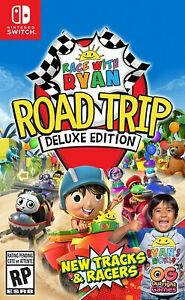 Race With Ryan Road Trip Deluxe Switch - OPENED FREE US SHIPPING