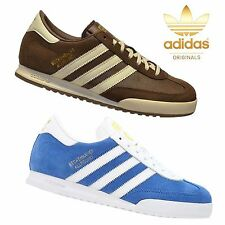 Adidas Originals Mens Trainers Shoes Beckenbauer Brown Blue UK Sizes 7-12