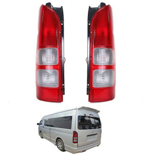 2005+ Fit TOYOTA HIACE COMMUTER VAN Commuter bus LWB SLWB TAIL LAMP LIGHT PAIR