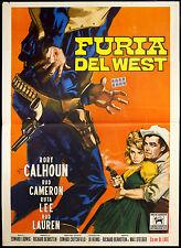 CINEMA-manifesto FURIA DEL WEST calhoun, cameron, lee, EDWARD LUDWIG