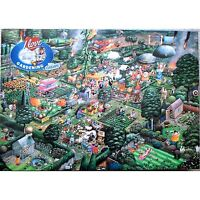 GIBSONS I LOVE GARDENING HUMOUROUS MIKE JUPP 1000 PIECE JIGSAW PUZZLE