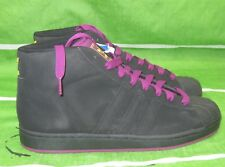 ADIDAS ORIGINALS PRO MODEL 2 BLACK VIOLET MENS SIZE 7 677729 Size 9.5- 10