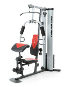 AUTHENTIC NEW Weider Pro 6900 Home Gym System with 6 Workout Stations