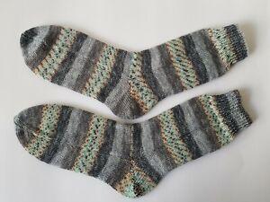 Selbstgestrickte Socken Gr.36-47 Neu Bunt Damen und Herren