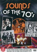 Sounds of the 70's : Status Quo, T. Rex, Roxy Music, Suzi Quatro, 10CC (4 DVD)