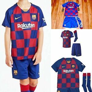 Nike 2019/20 Barcelona Junior Youth Kid FULL Home Kit AO3052 456 M,XL 5-9 YEARS