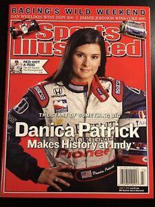 2005 Sports Illustrated Magazine Danica Patrick Makes History Indy 500 NO LABEL
