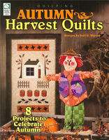 AUTUMN HARVEST QUILTS Quilting Patterns Paperback Crafts Book in English ~ NEW