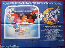Cinema Poster: CARE BEARS MOVIE II A NEW GENERATION 1986 (Quad) Maxine Miller