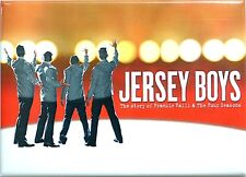 JERSEY BOYS BROADWAY SOUVENIR MAGNET - JOHN LLOYD YOUNG