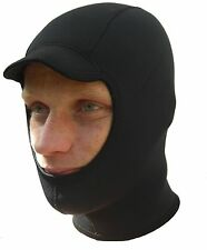 Really warm - Surf hood balaclava cap 3mm titanium neoprene
