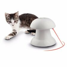 New 360° Automatic Interactive Dart Laser Training Teaser Pets Puppy Dog Cat Toy