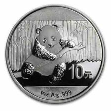 New 2014 Chinese Silver Panda 1oz 99.9% Silver Bullion Coin Encapsulated by Mint