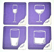 "RARE OLD Cadbury's Dairy Milk BEER MATS ""Glass and a Half"" Chocolate COLLECTIBLE"