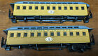 2x Pocher HO VIRGINIA & TRUCKEE #38 OLD TIME COACH For Repair! ITALY VINTAGE Lot