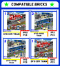 ✅CITY New DF11Z-01B DF5-1391 Train Blocks⭐Costruzioni BrickSet 100% Compatibile⭐