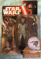 RARE Star Wars The Force Awakens Constable Zuvio New In Box Figure 3.75 Inch