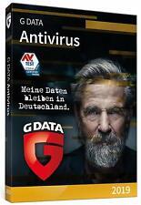 G DATA Antivirus 2019 Lizenz für 3 Windows-PC 1 Jahr - Download - Code per Email