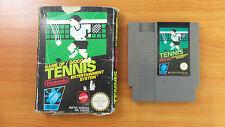 1986 Nintendo NES Game - Game of Tennis - PAL
