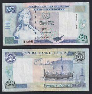 Cipro 20 pounds 2001 BB/VF  A-06