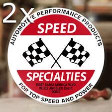 2x Stück Speed Specialties Aufkleber Sticker Hemi 427 V8 Autocollante Hot Rod