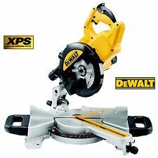DeWalt DWS774 110v 1400watt 216mm Slide Mitre Saw with XPS Chop Saw UK