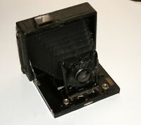 RARE HUGO MEYER DOPPEL-ANASTIGMAT LENS 165mm F5.4 in 10x15 Folding Plate Camera