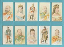 More details for royalty - nostalgia repros  (of taddy) - 50 sets of 20 royalty actresses & solds