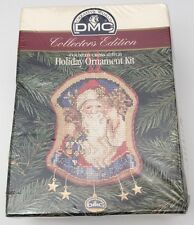 DMC Collector's Edition Santa Claus Counted Cross Stitch Holiday Ornament Kit