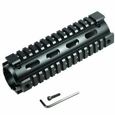 "New Length 6.7"" Carbine Handguard Picatinny Quad Rail 20mm Mount for Rifle"