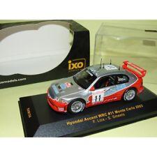 Hyundai Accent Rallye Monte Carlo 2003 Loix IXO Ram104 1 43