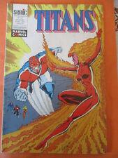 TITANS N)° 148 avril 1991   Excalibur Les nouveaux mutants Les vengeurs