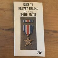 Guide To Military Ribbons Of The United States Vtg 1945