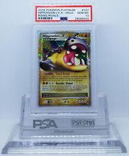 Pokemon PLATINUM RISING RIVALS HIPPOWDON LV X #107 HOLO FOIL PSA 10 GEM MINT #*