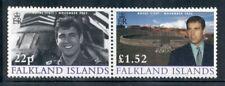 FALKLAND ISLANDS 823 SG945-46 MNH 2002 Royal Visit set of 1pair Cat$15
