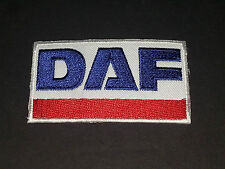 MOTORSPORTS MOTOR RACING SEW/IRON ON PATCH:- DAF