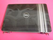 NEW GENUINE Dell Inspiron 1525 1526 LCD Back Cover Lid (BLACK w/STRIPE) KY320