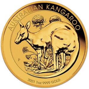 2021 P Australia Gold Kangaroo - 1 oz - $100 - BU
