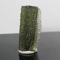 23.50ct Moldavite Crystal Gem Mineral Tektite Meteorite Czech Republic Green Per