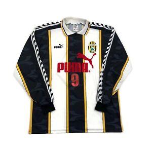 🔥St Patrick FC Zabbar Home L/S Football Shirt Puma Original Malta #9 - XL🔥