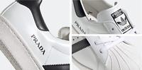 Prada Superstar Adidas Consortium 450 Italy Limited Sneakers Schuhe Trainer 43