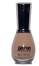 Glossy Nail Polish/Varnish Saffron London 59 Beige French Manicure