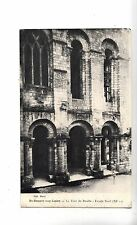 BF12333 la tour du porche facade saint benoit sur loire  france front/back image