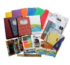 School Supply Bundle Middle High School Binder Hi-lighters composition Pens WIDE